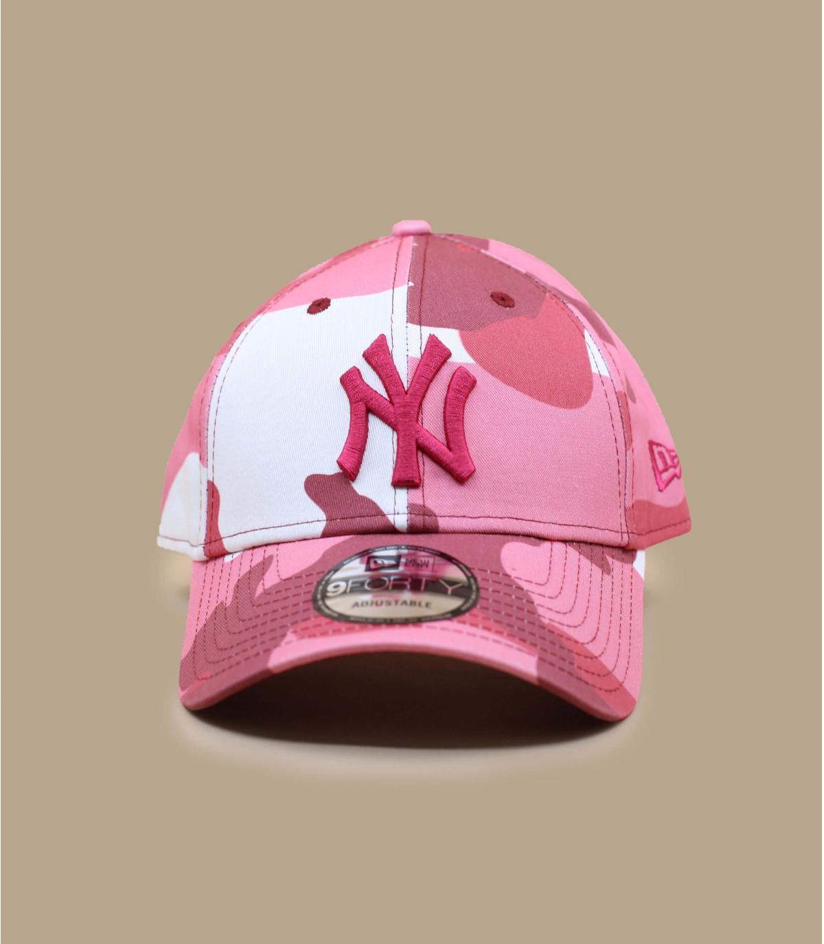 Cap NY camo rosa