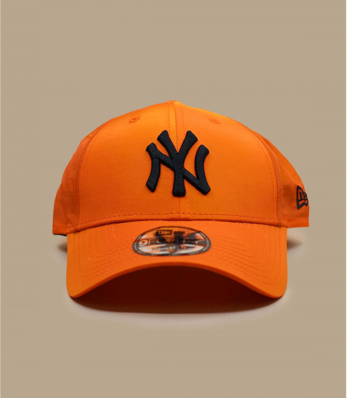 Cap NY schillernd orange