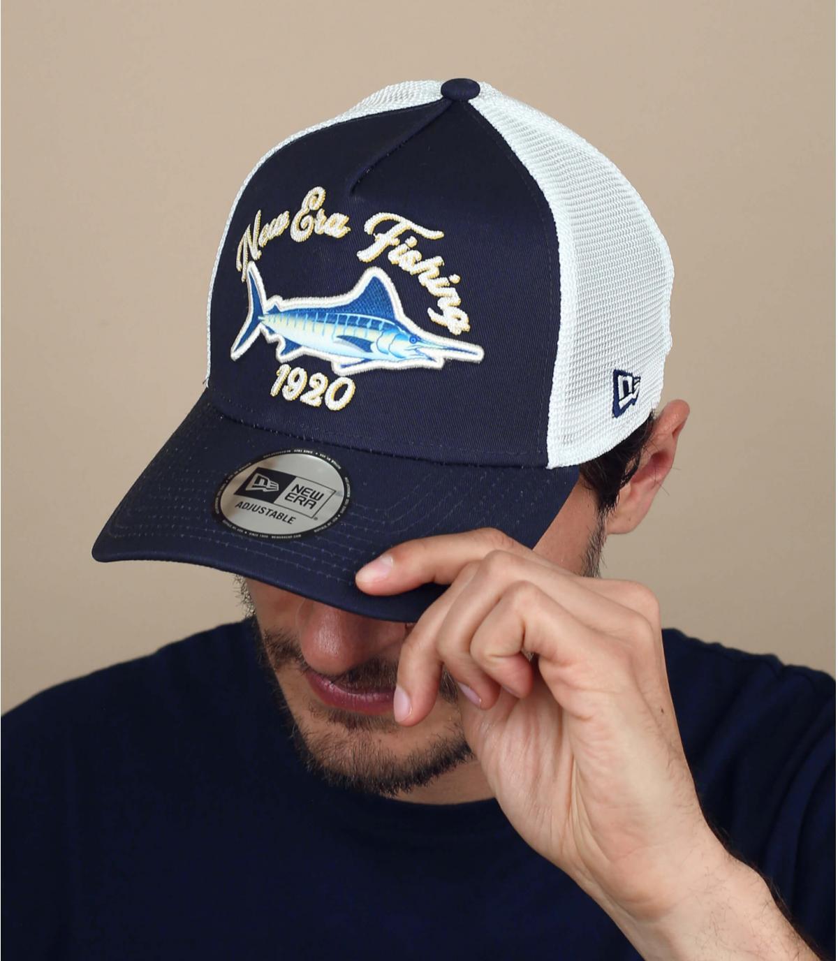 Trucker Cap Schwertfisch blau