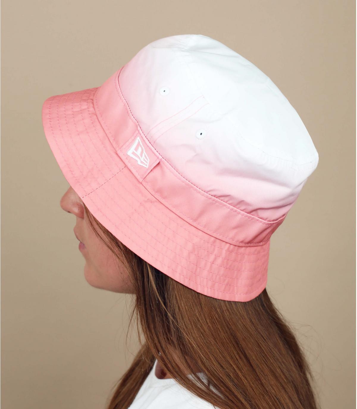 Fischerhut rosa abgestuft New Era