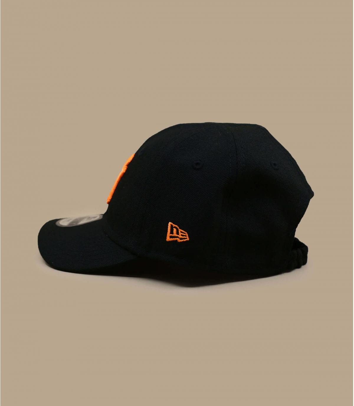 Baby Cap NY schwarz orange