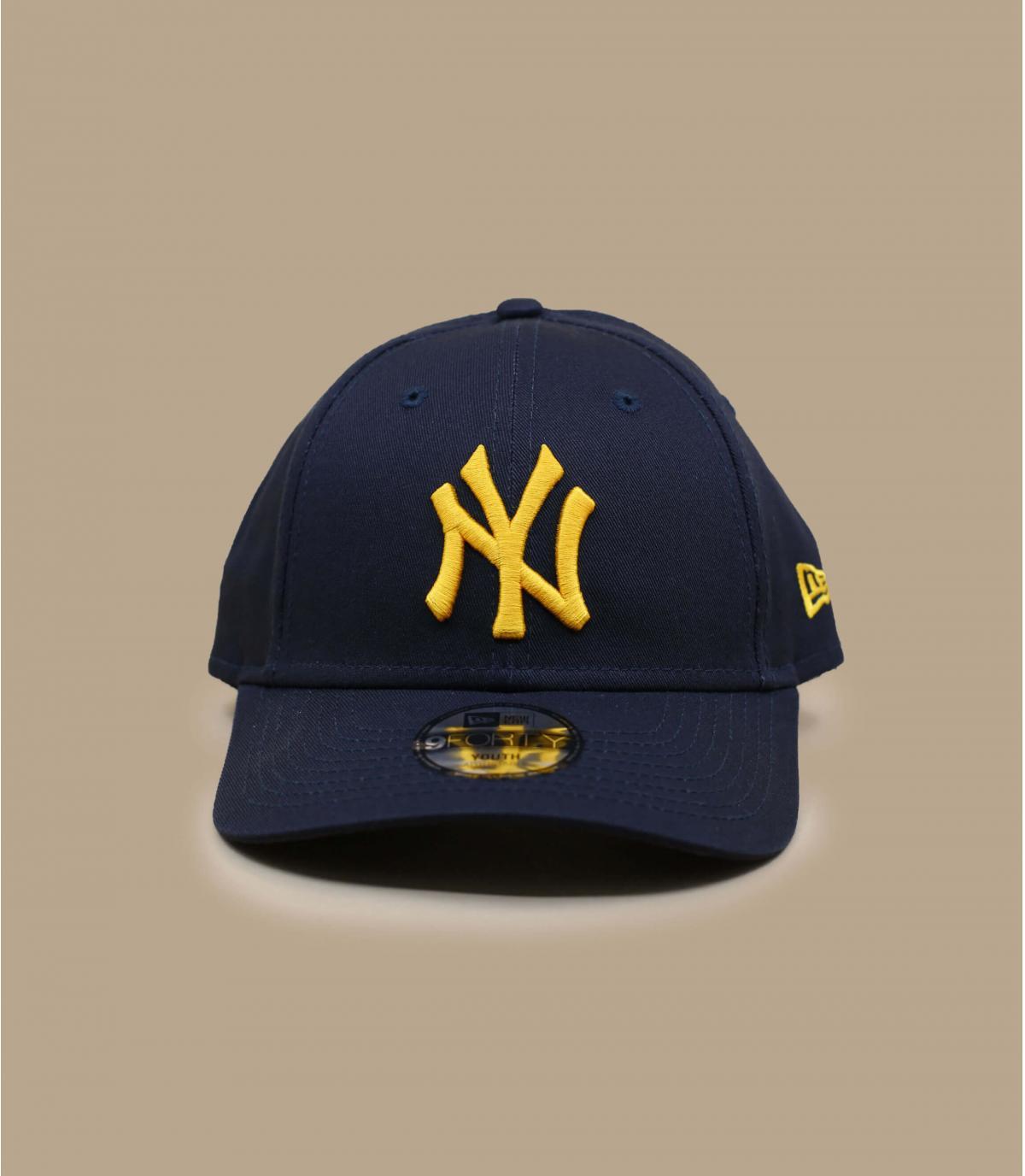 Kinder Cap NY marineblau