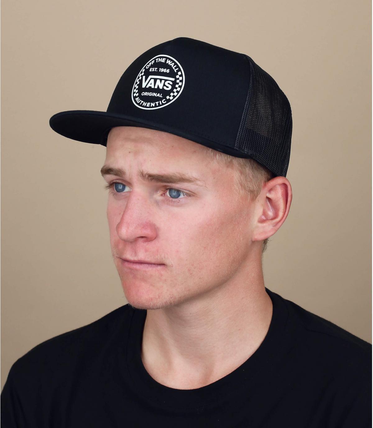 Trucker Cap Vans schwarz