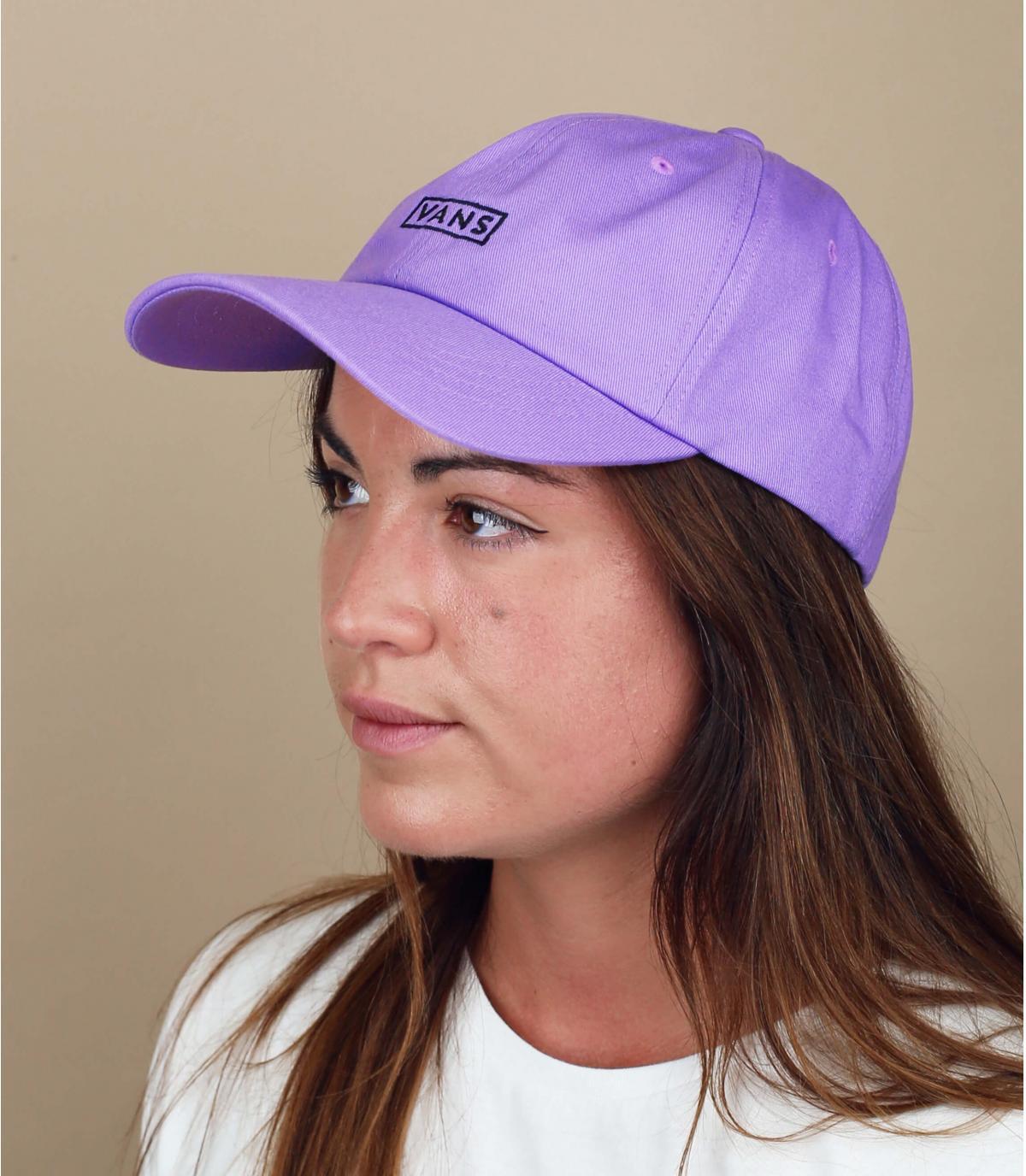 Damen Cap Vans violett