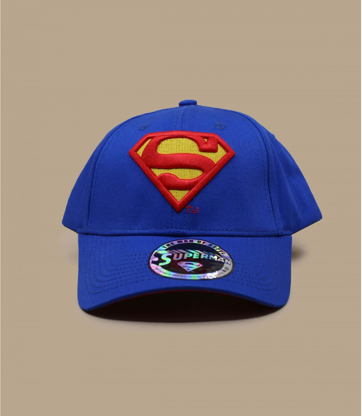 Cap superman blau