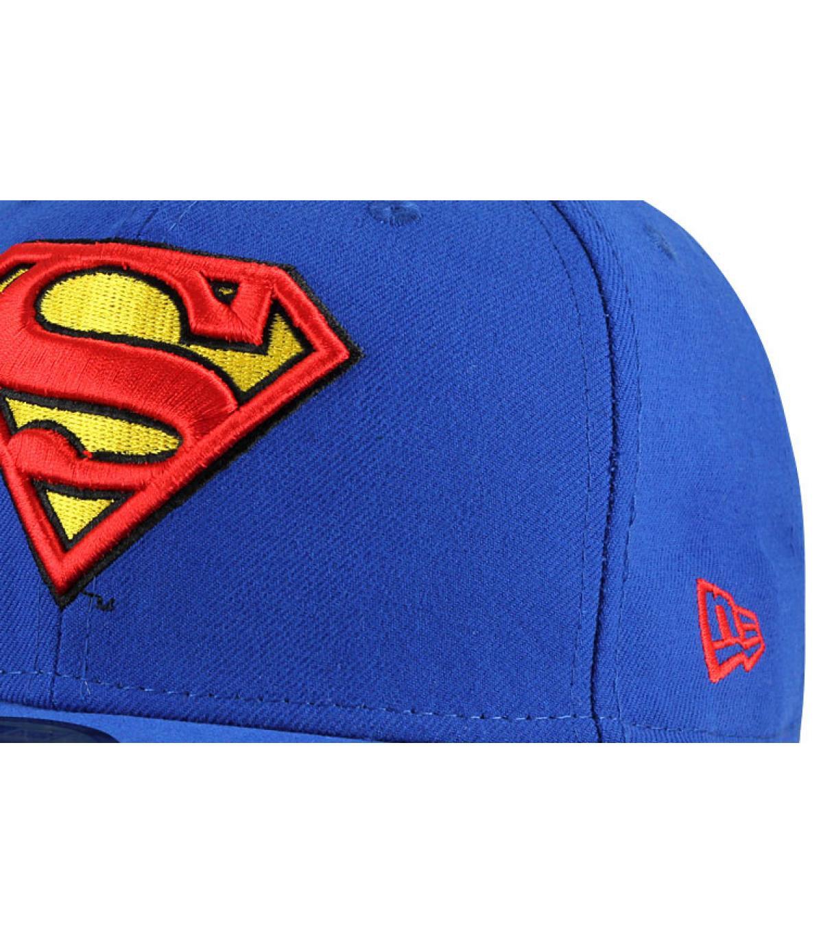 Details Cap Superman black - Abbildung 2