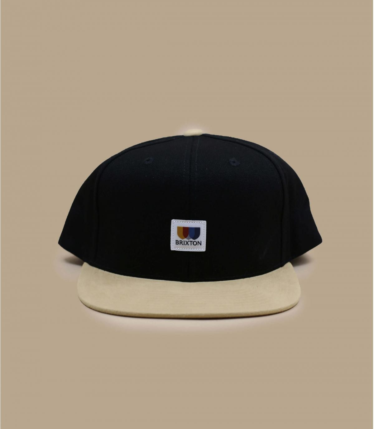 Snapback schwarz Brixton