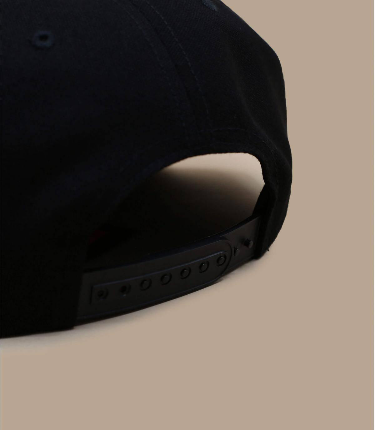 Details Alton Snapback black tan suede - Abbildung 3