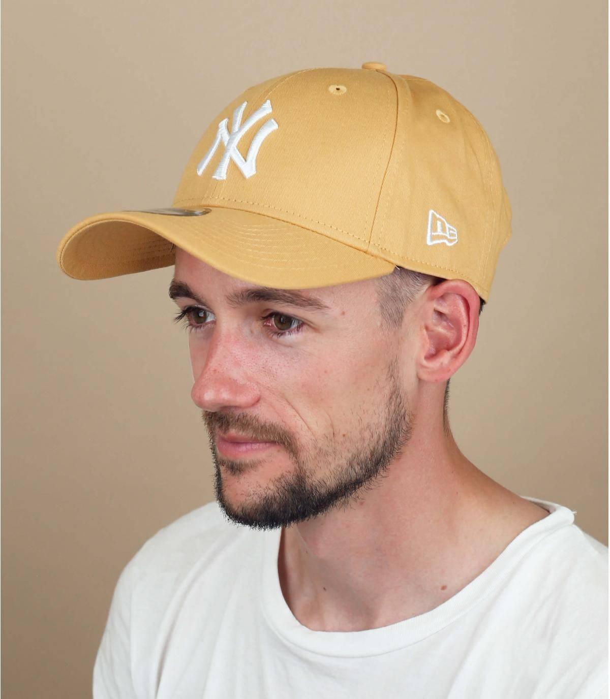 Cap NY gelb