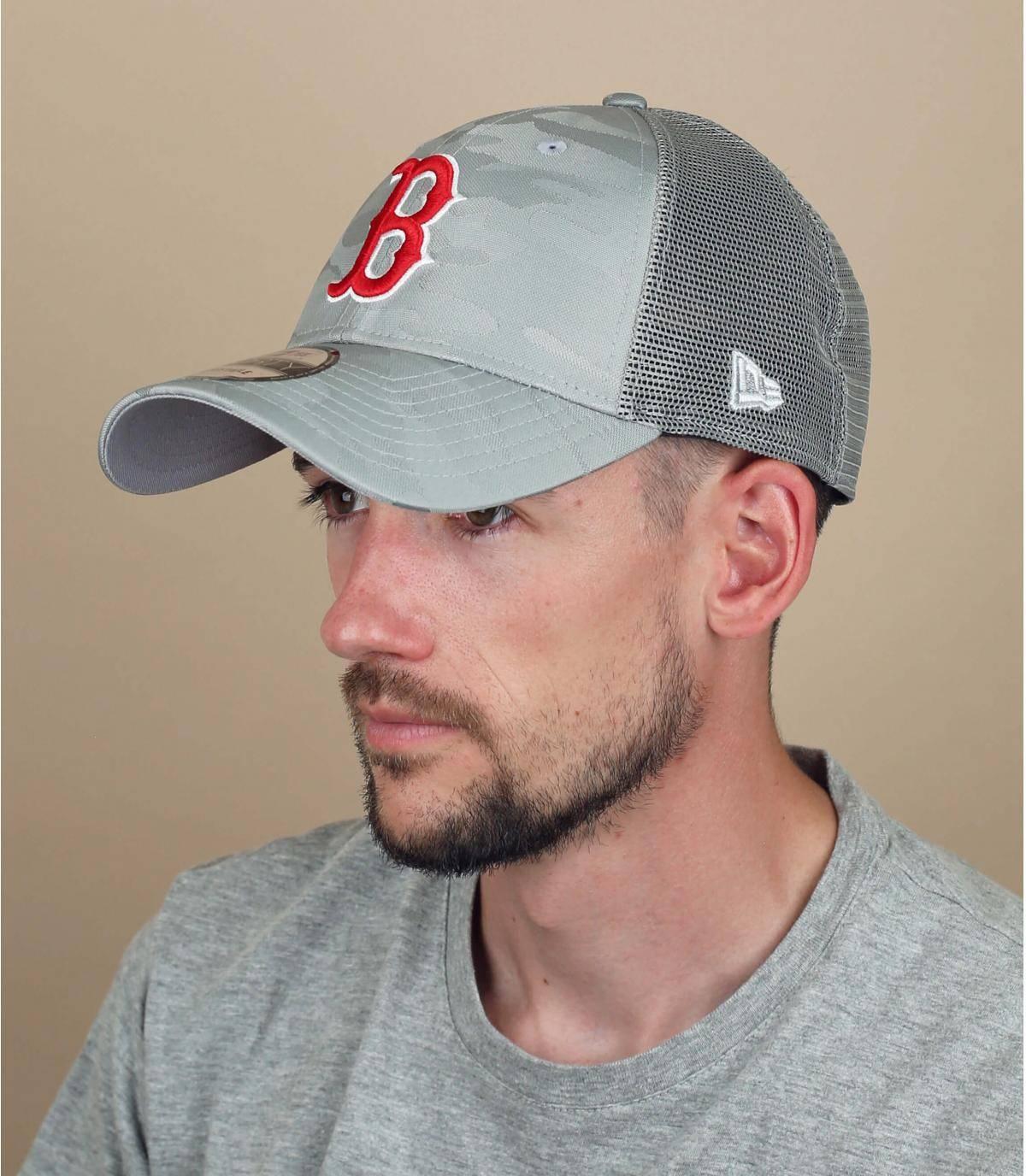 Trucker Cap  B grau