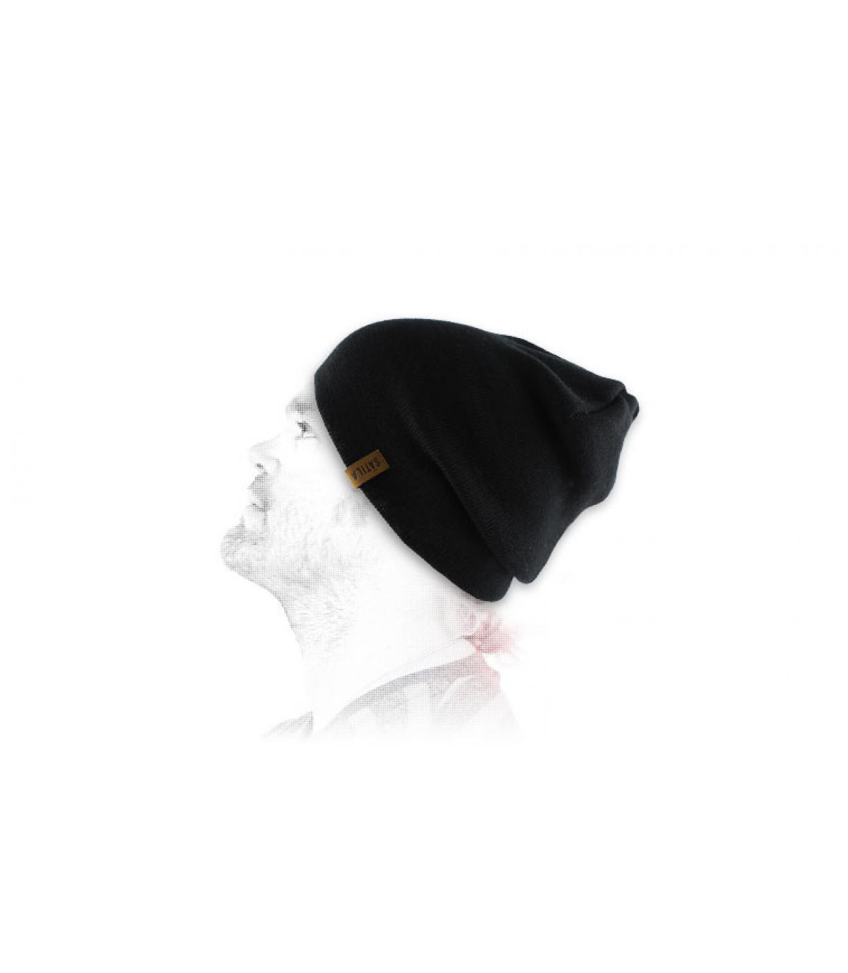 Satila schwarze Mütze