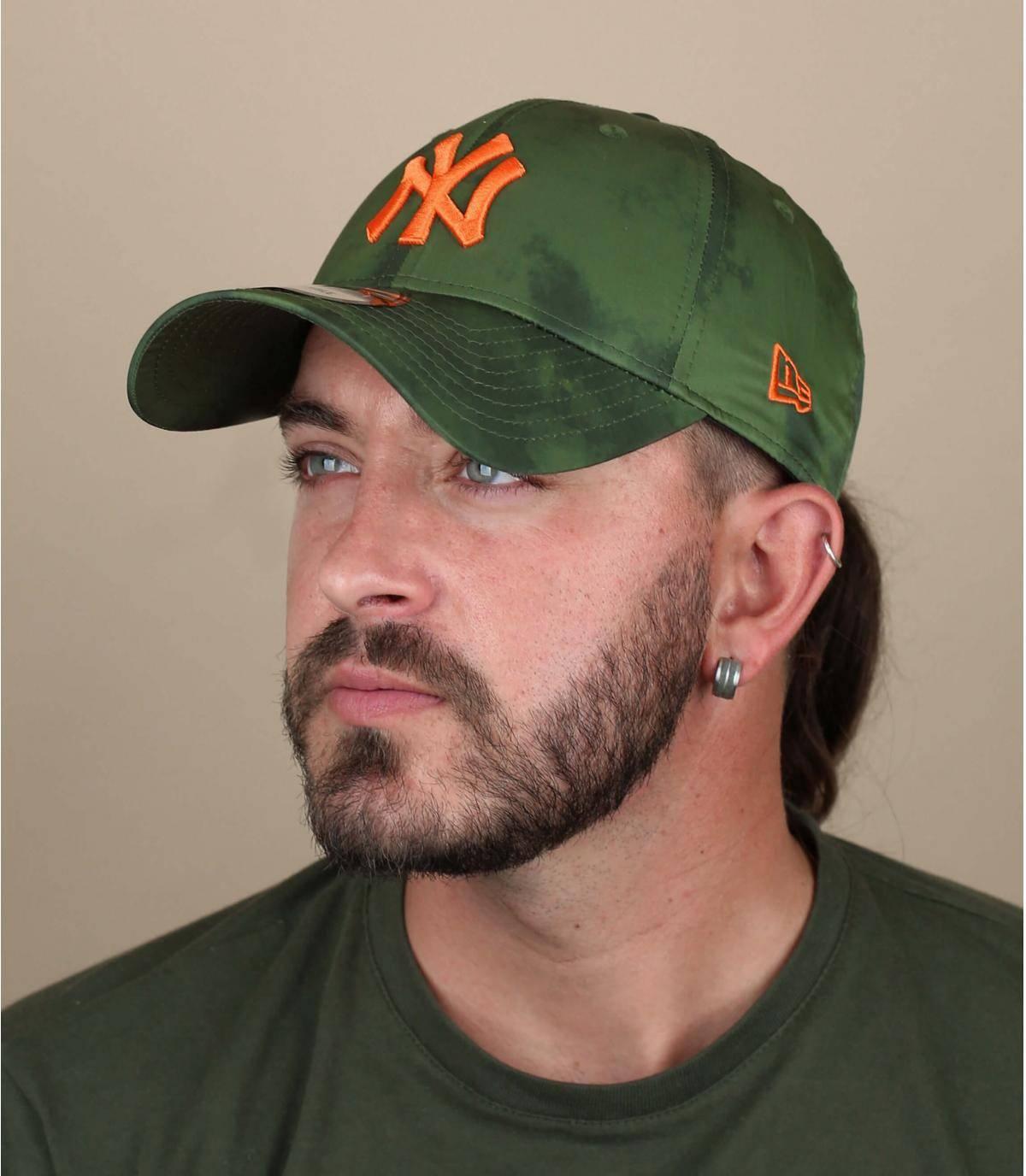 Cap NY grün