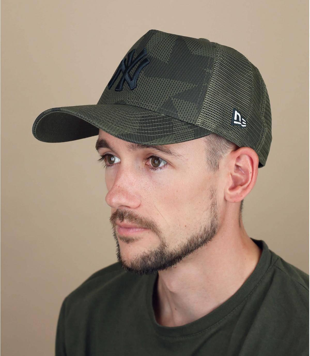 Trucker Cap NY grün