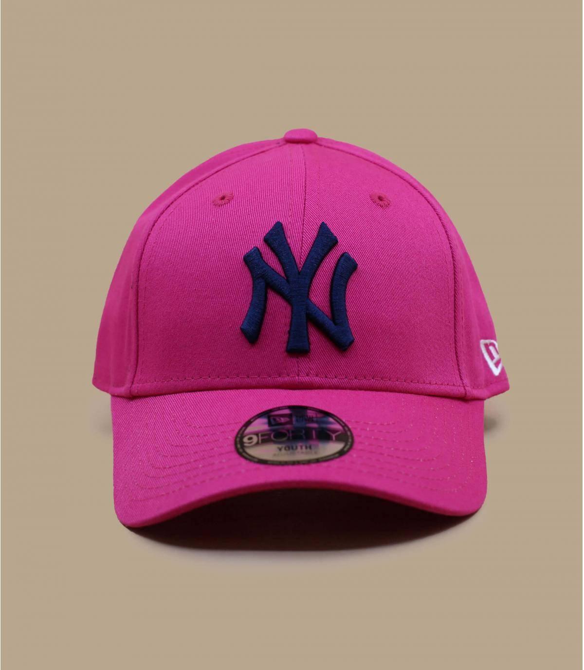 Kinder Cap NY rosa