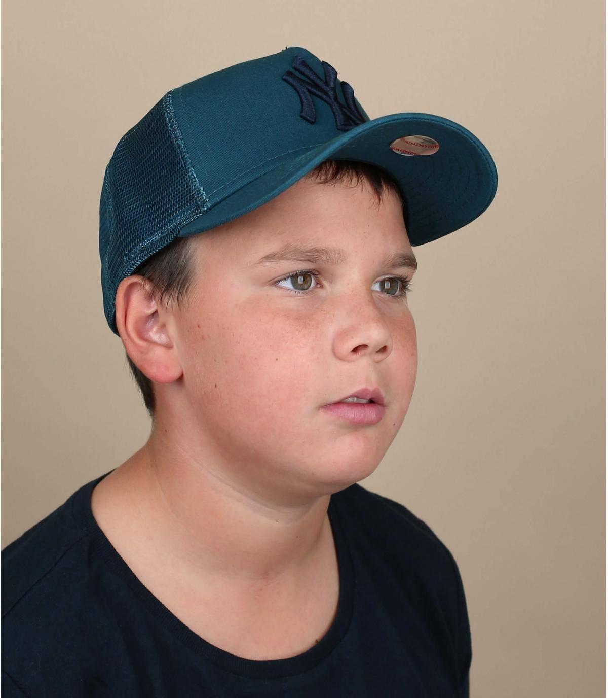 Trucker Kinder Cap blau