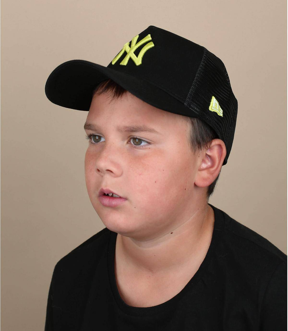 Trucker Kinder Cap schwarz