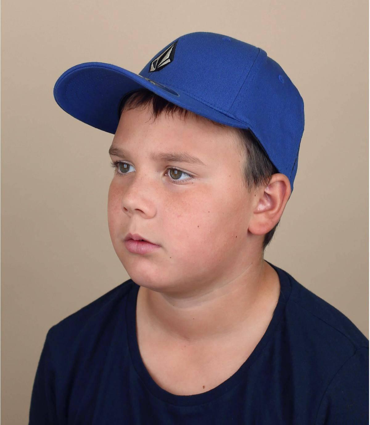 Kinder Cap Volcom blau