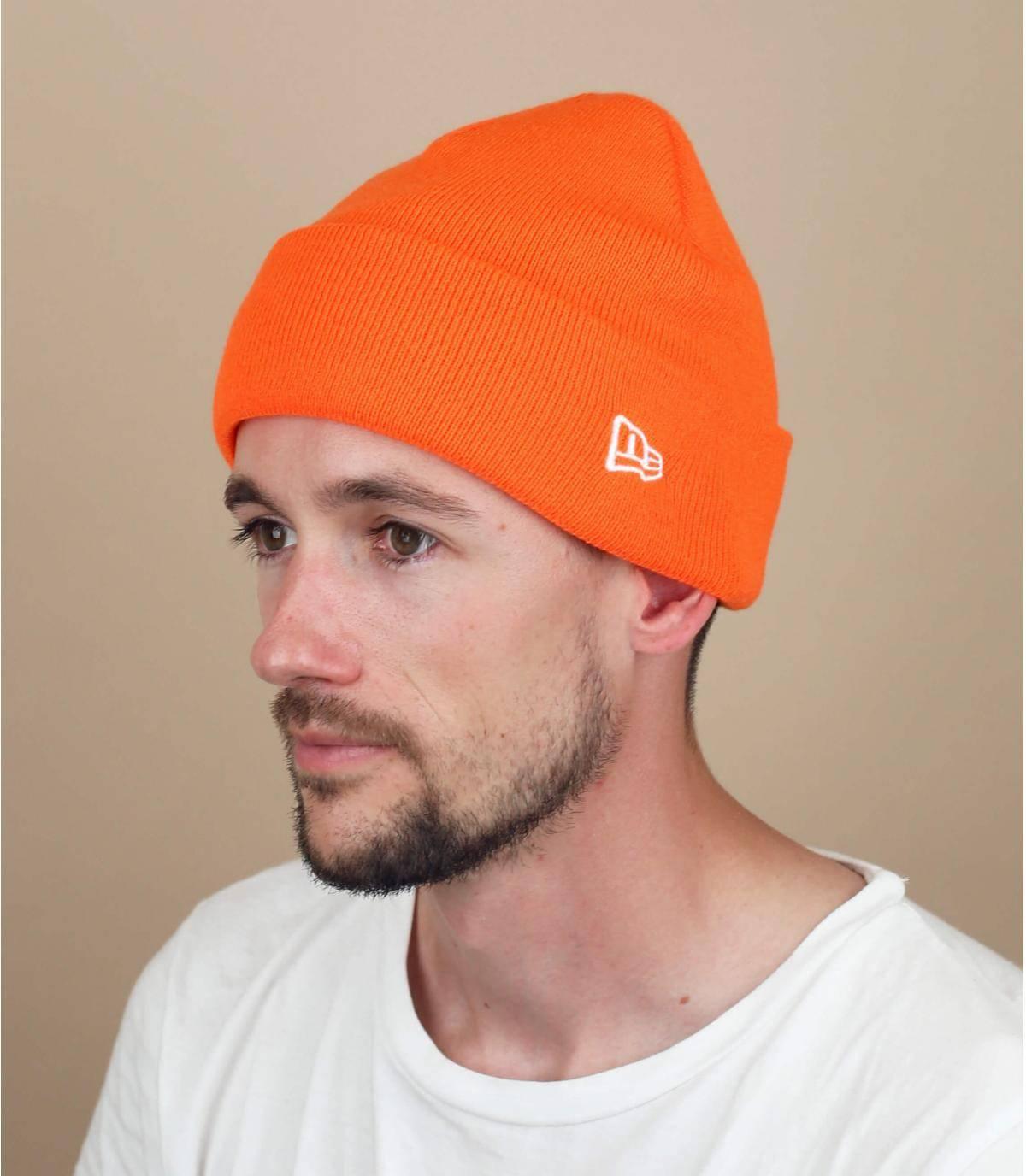 Mütze New Era orange
