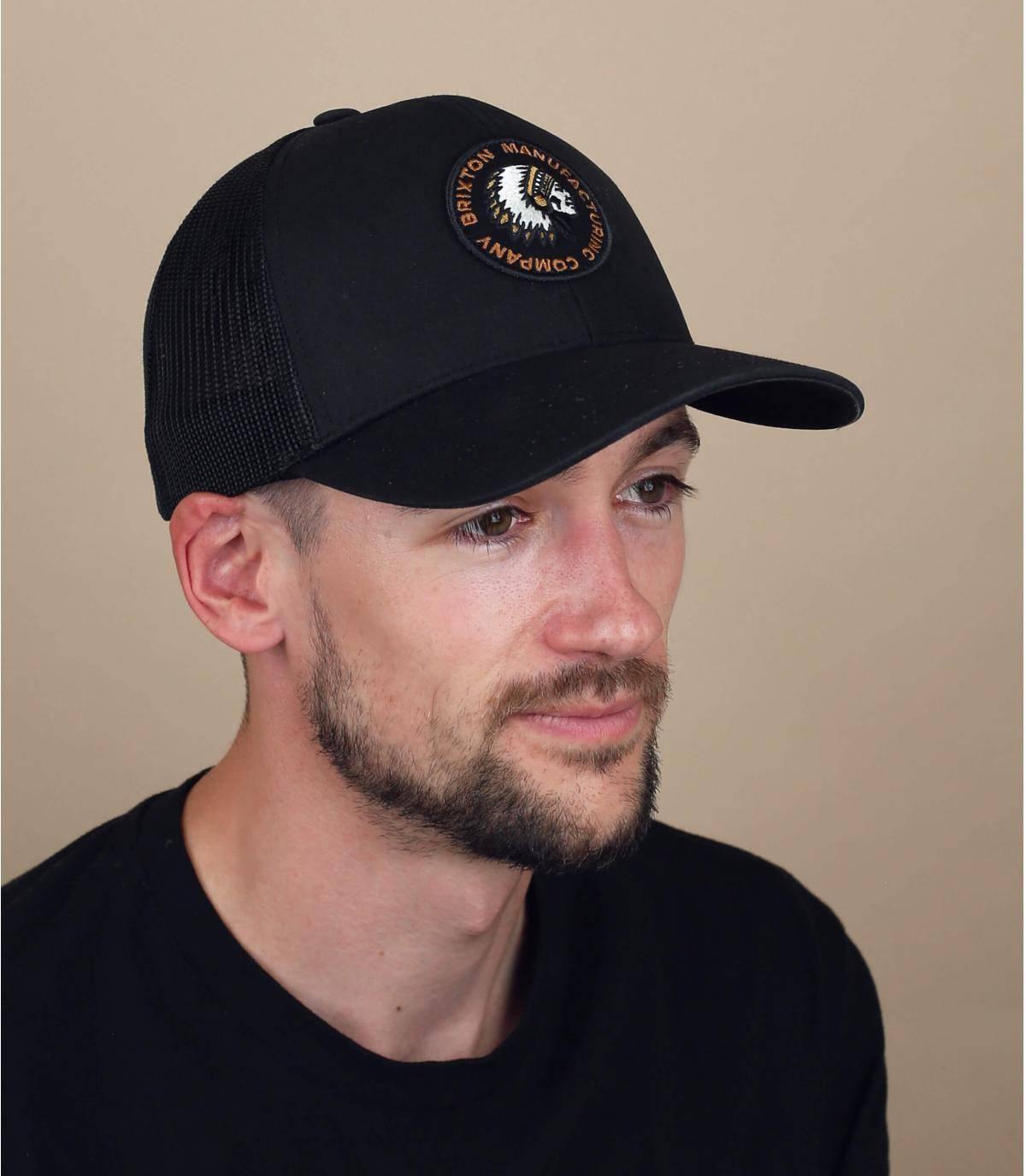 Trucker Cap Brixton schwarz