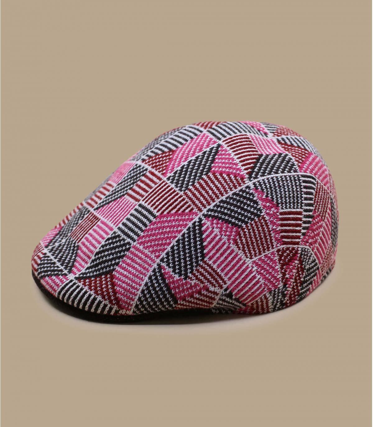 Details 507 Tiled electric pink - Abbildung 2