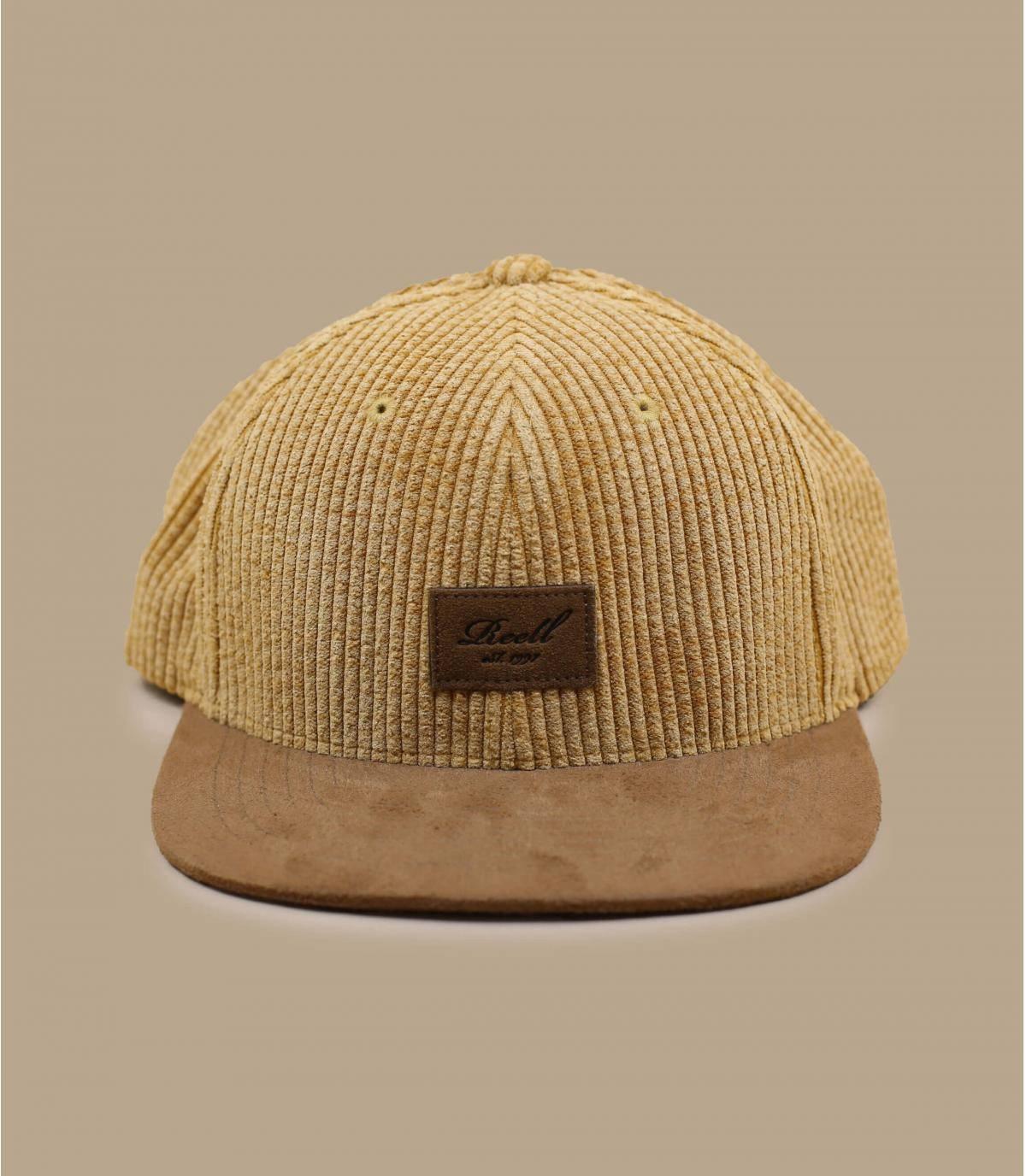 Details Suede Cap Cord beige - Abbildung 2