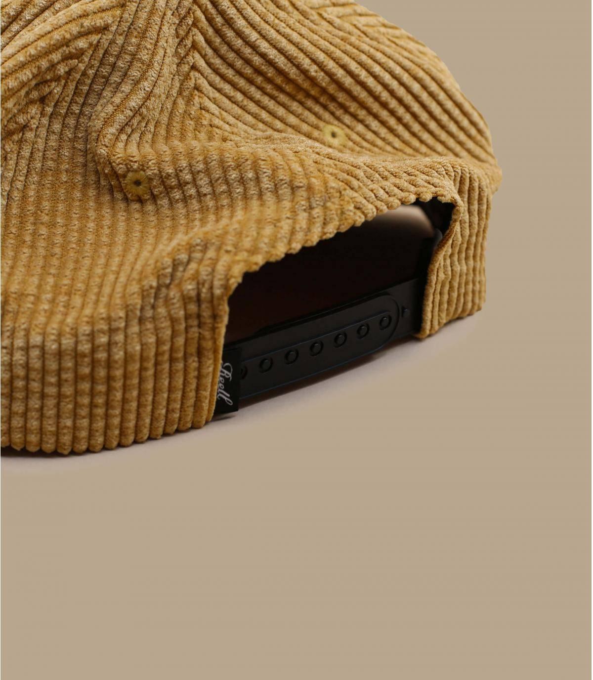Details Suede Cap Cord beige - Abbildung 4