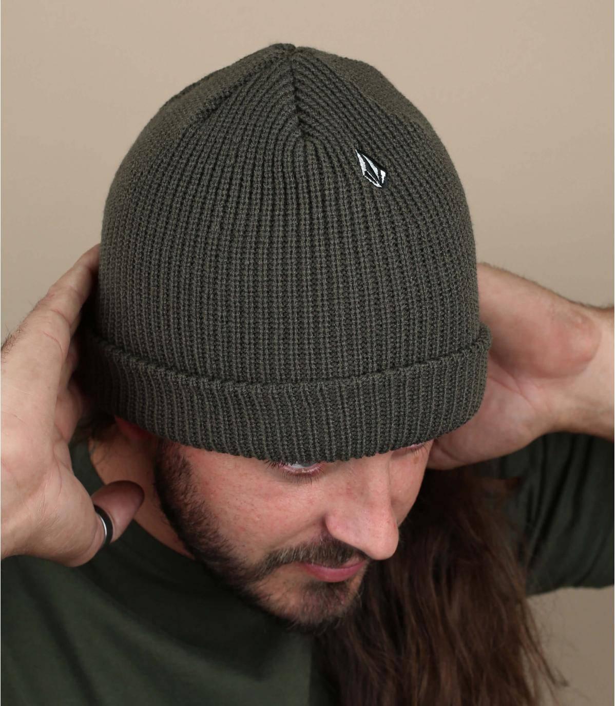 Mütze grün Volcom