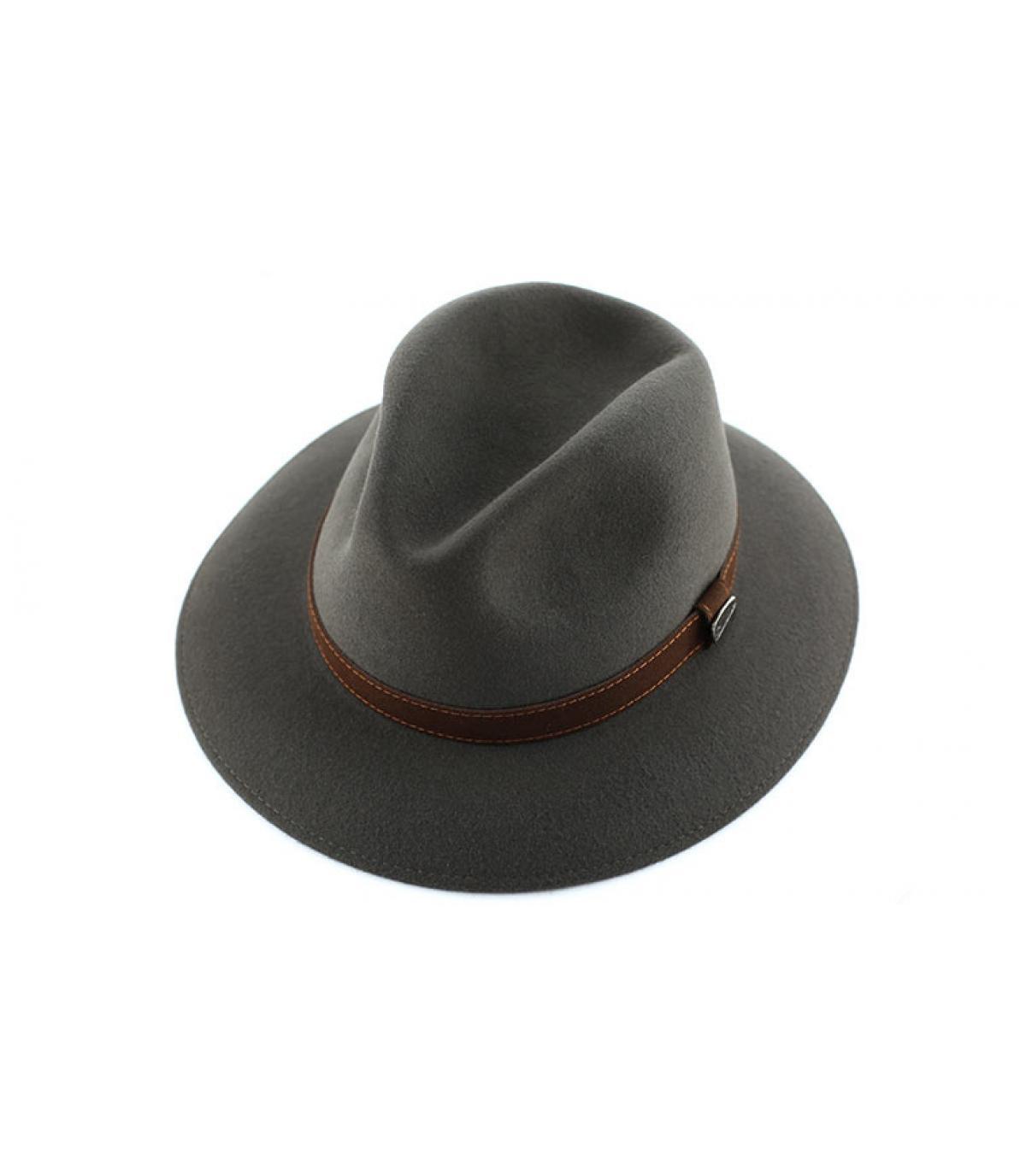 Details Alessandria grey fur felt hat - Abbildung 3