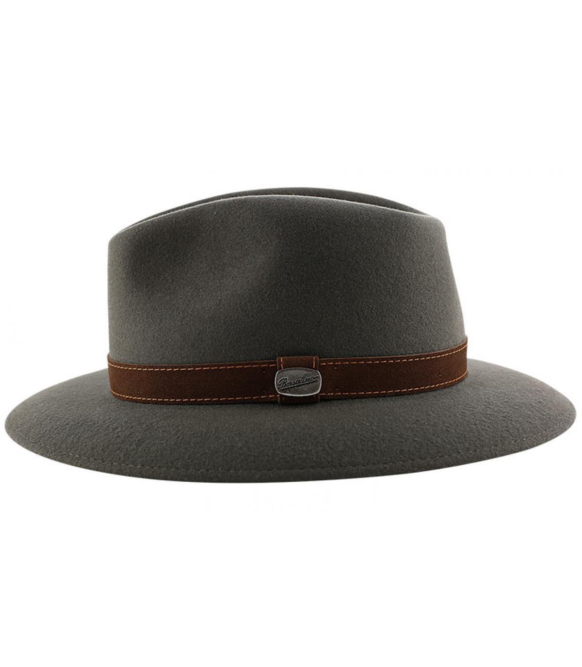 Details Alessandria grey fur felt hat - Abbildung 4