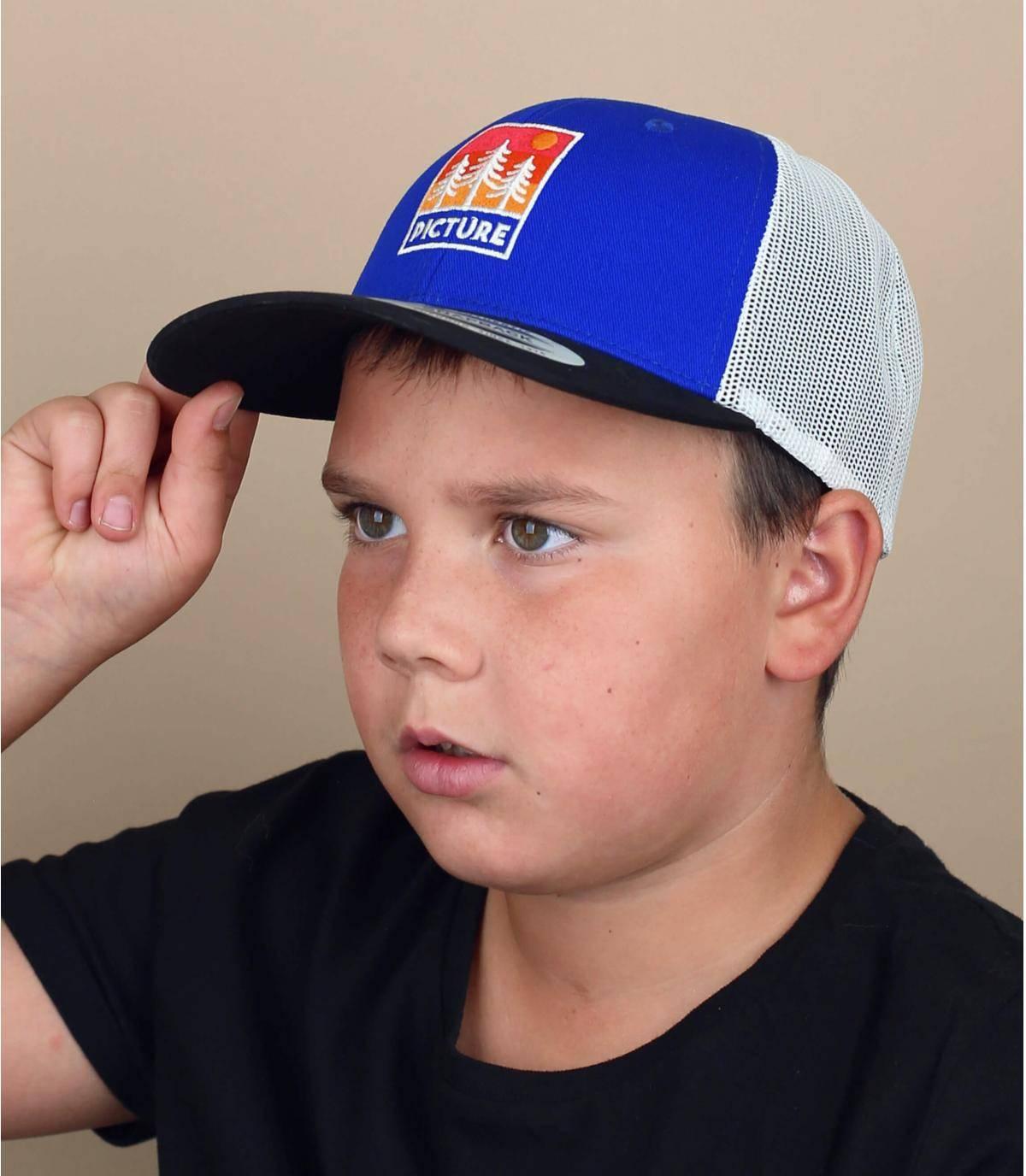 Kinder Trucker Cap Picture