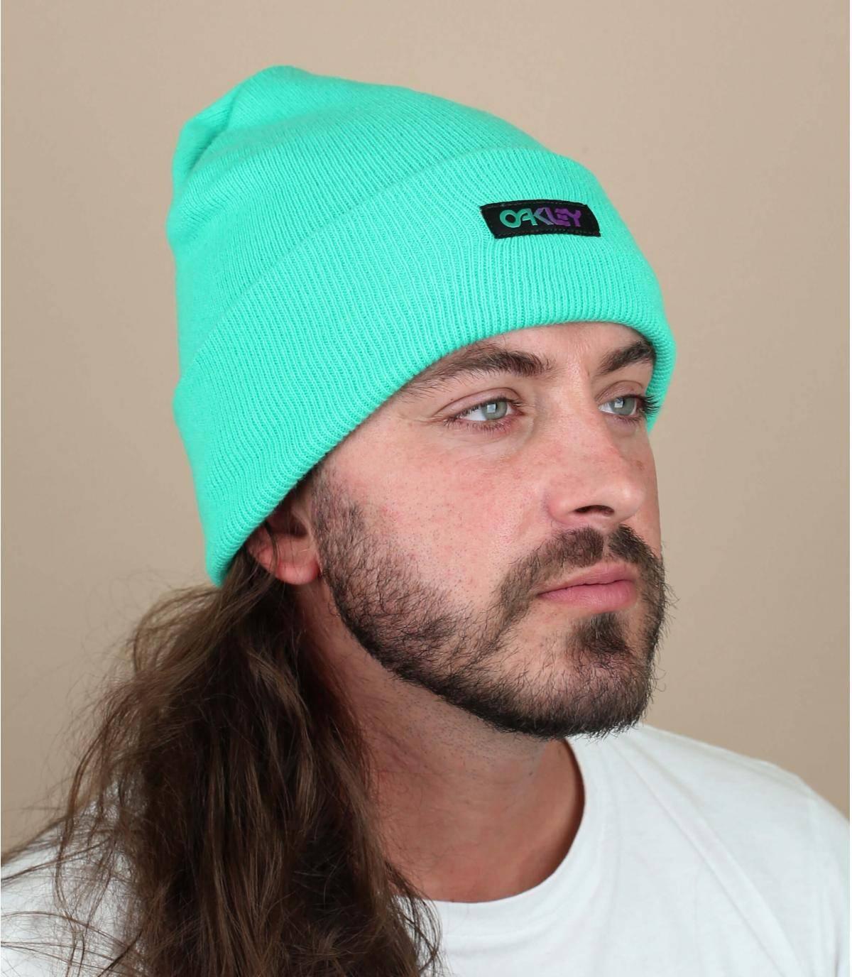 grüne Mütze Oakey