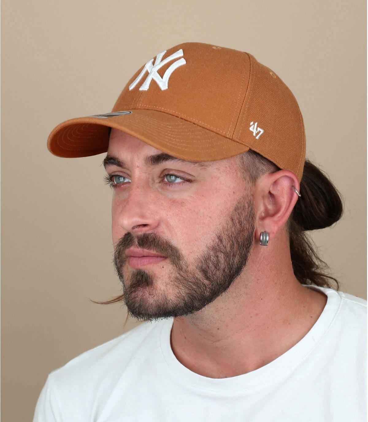 Cap NY orange