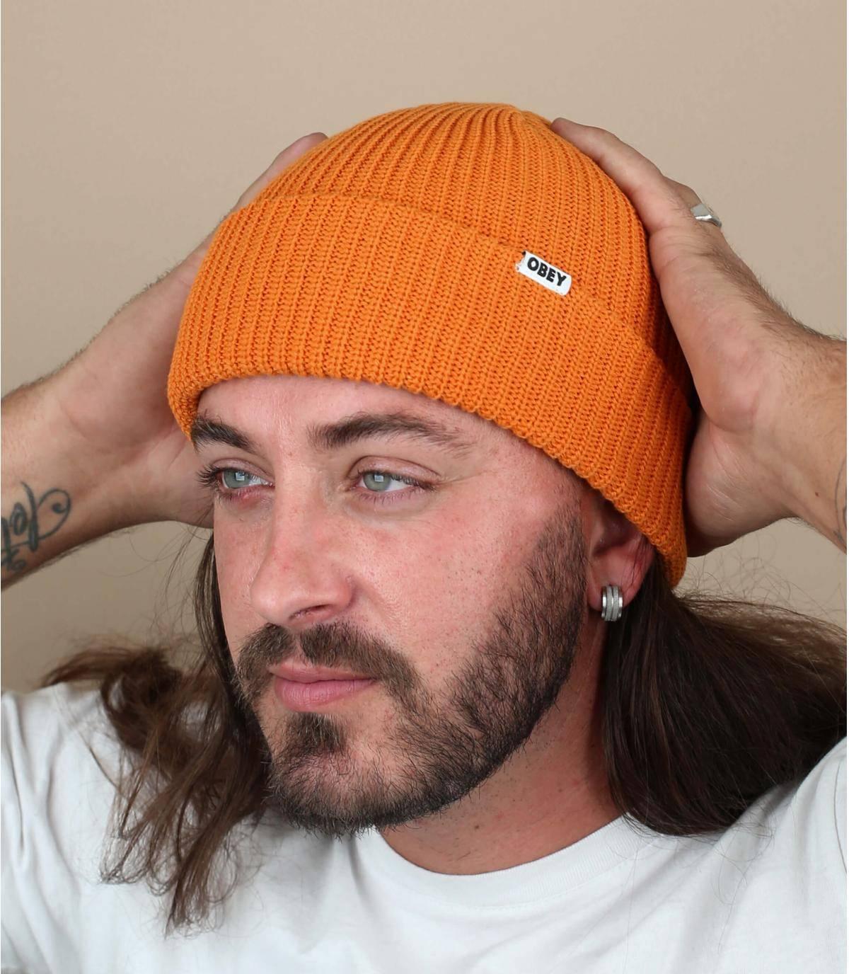 Dockermütze orange