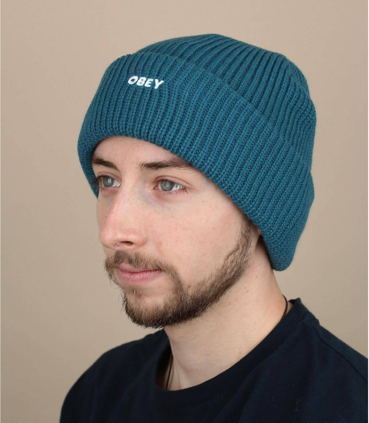 Mütze Obey blau