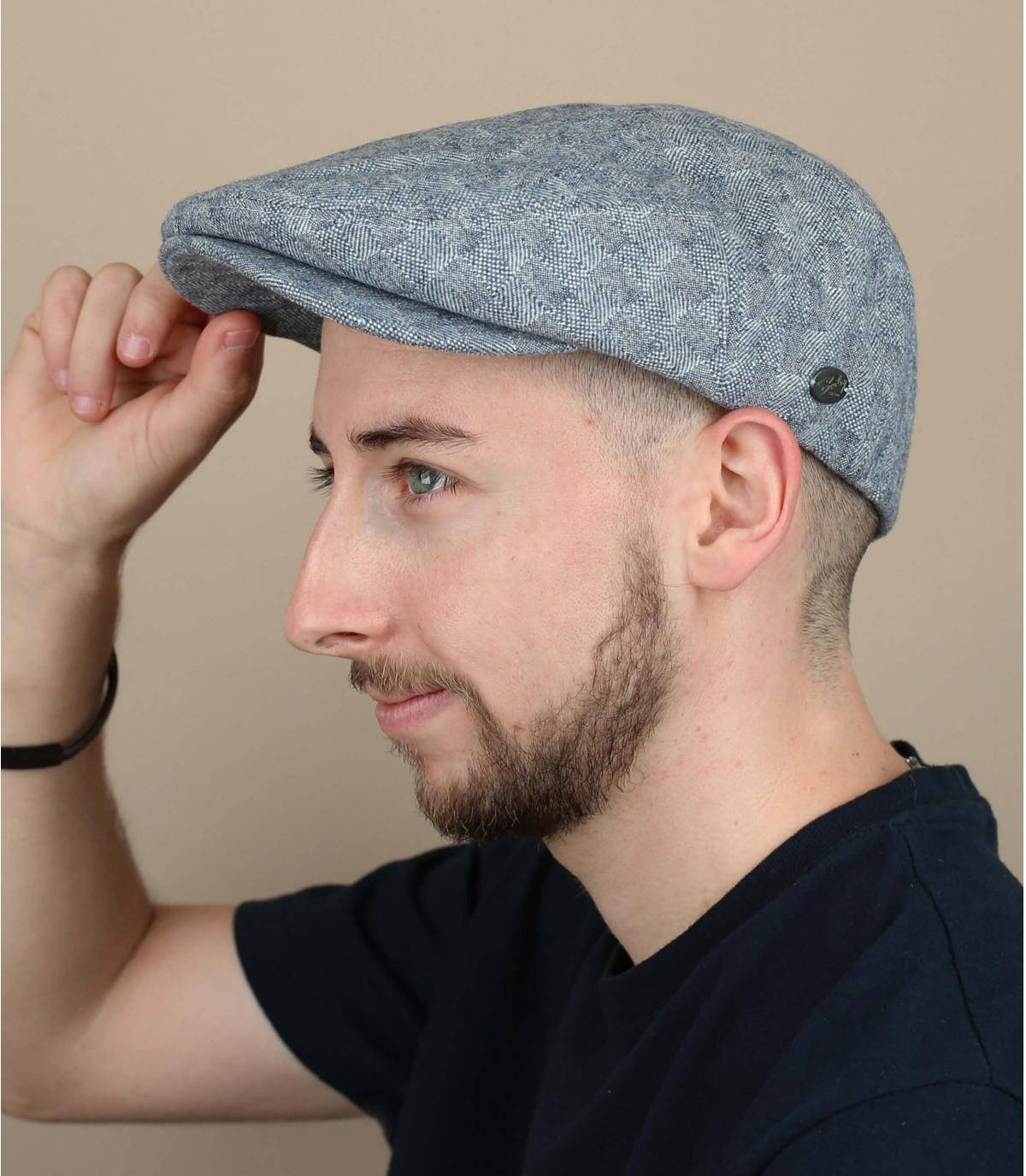 Flatcap marineblau