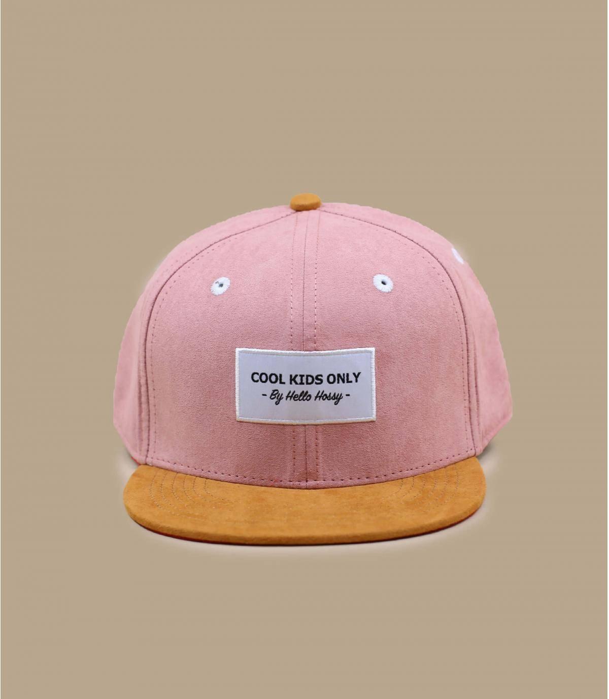 Kinder Cap rosa