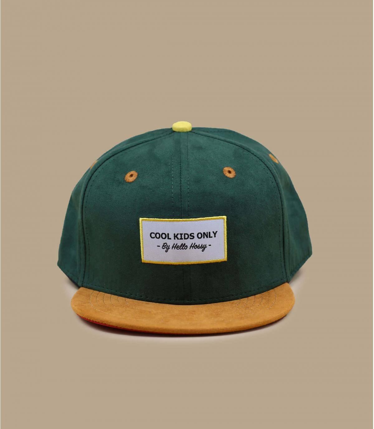 Kinder Cap grün