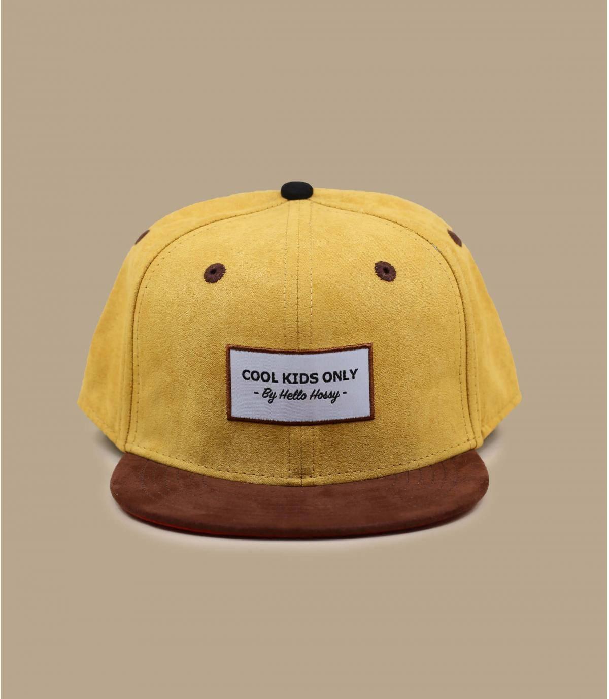 Kinder Cap gelb