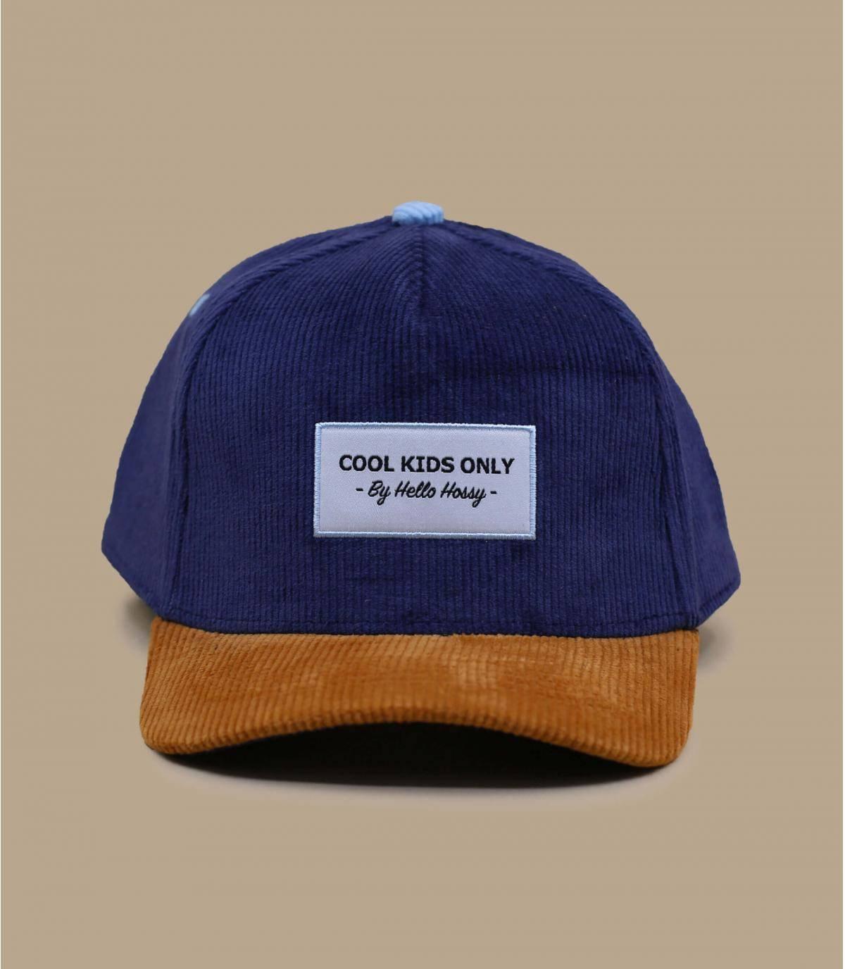 Kinder Cap blau