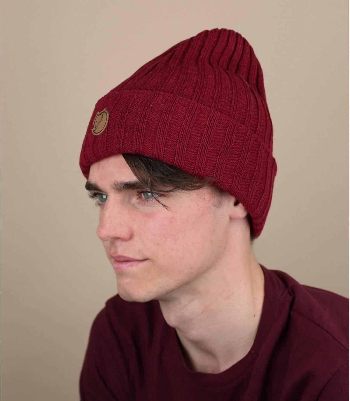 Mütze bordeaux Fjällräven