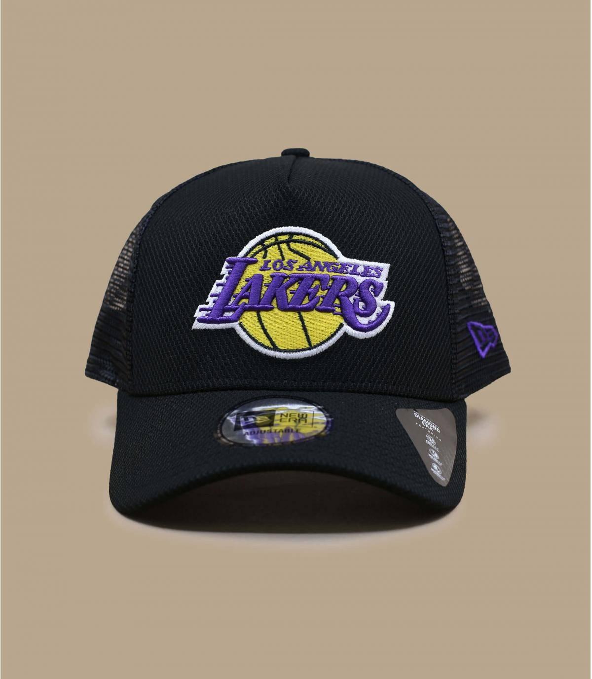 Trucker Cap Lakers schwarz