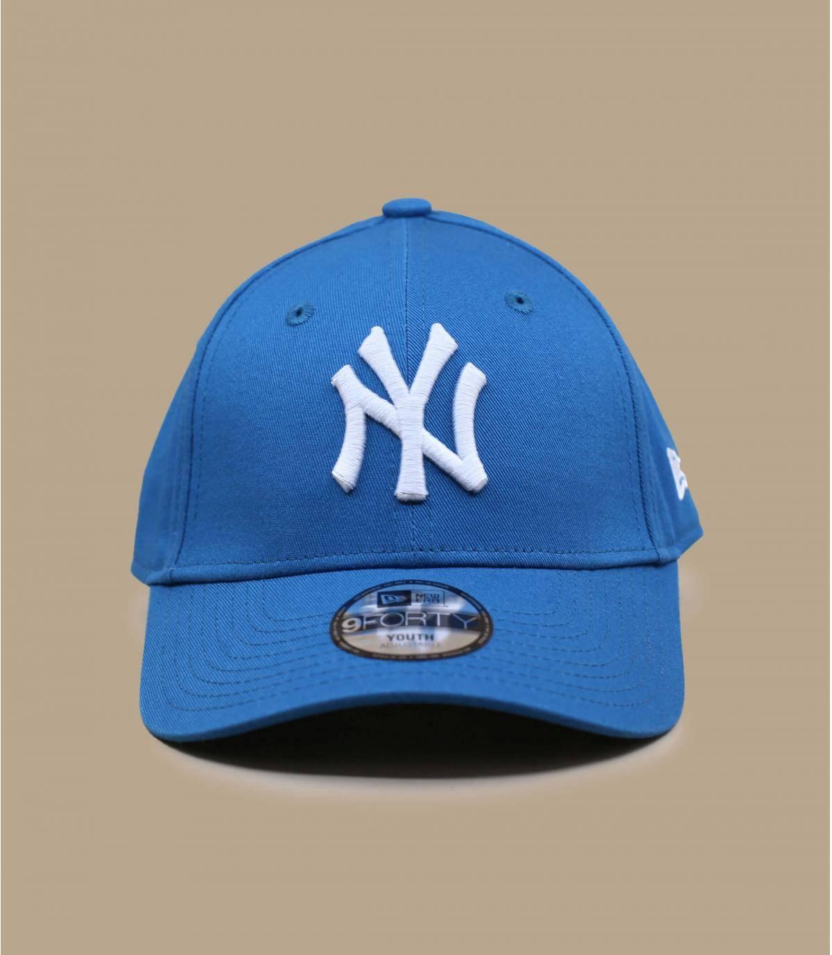 Kinder Cap NY blau