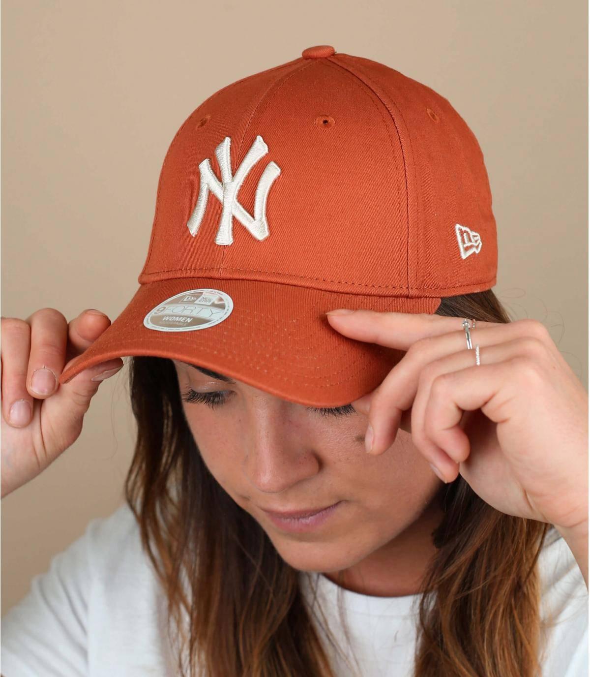 Damen Cap orange