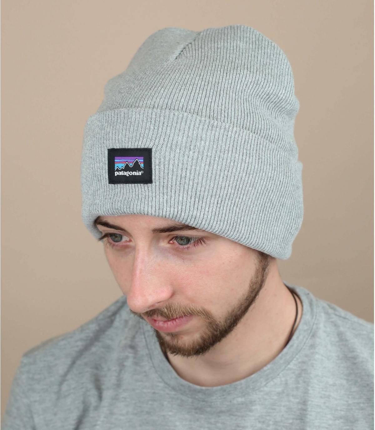 Cuff Mütze grau Patagonia