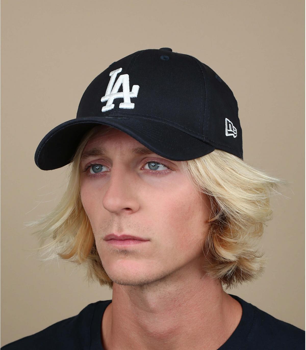 Blau LA trucker cap