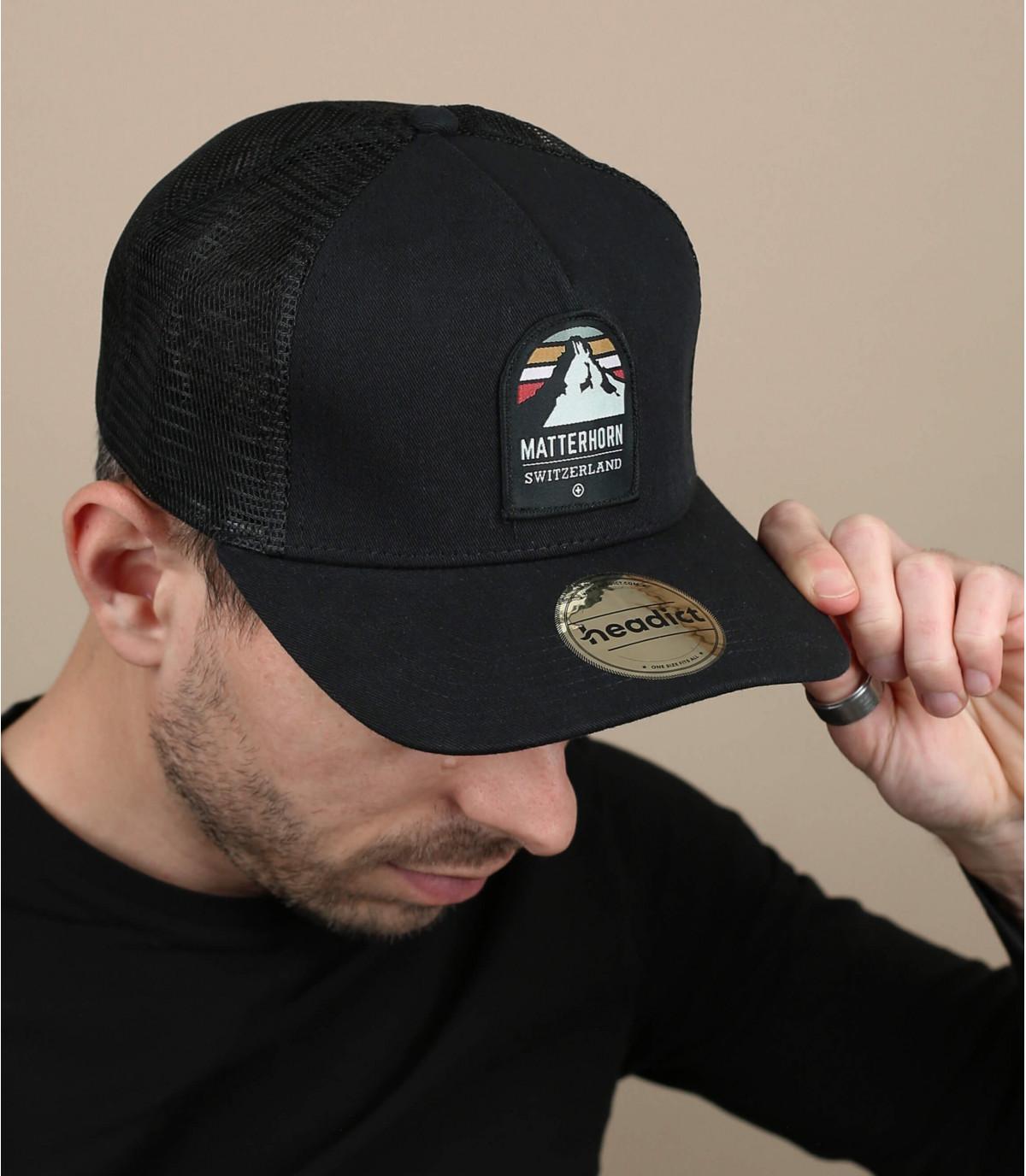 trucker matterhorn schwarz