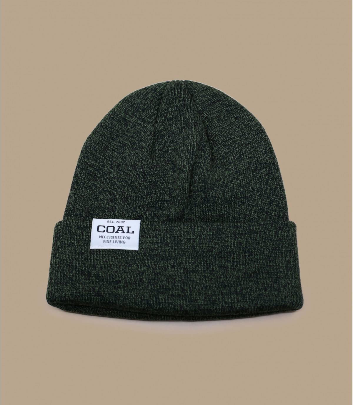 Peruanische Mütze schwarz Coal