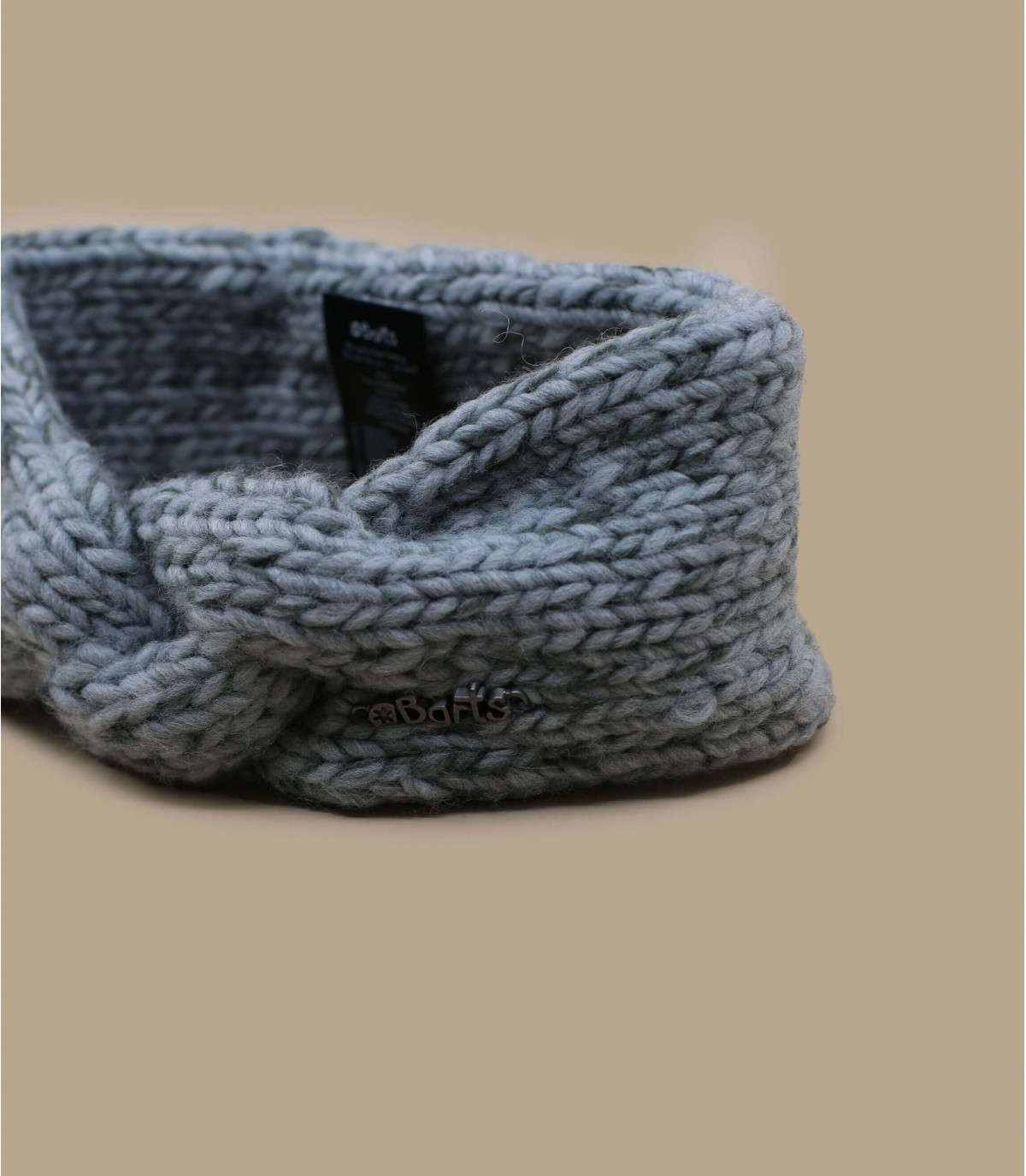 3194090ce627cf Stirnband geflochten grau Mädchen - Tara Headband Girls heather grey Barts  - Abbildung ...