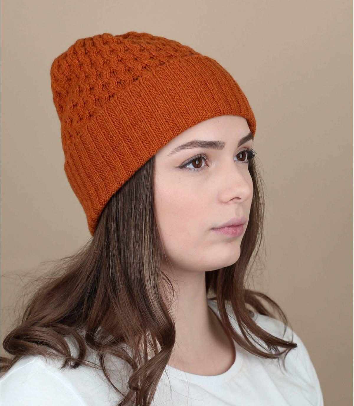 Wollemütze orange