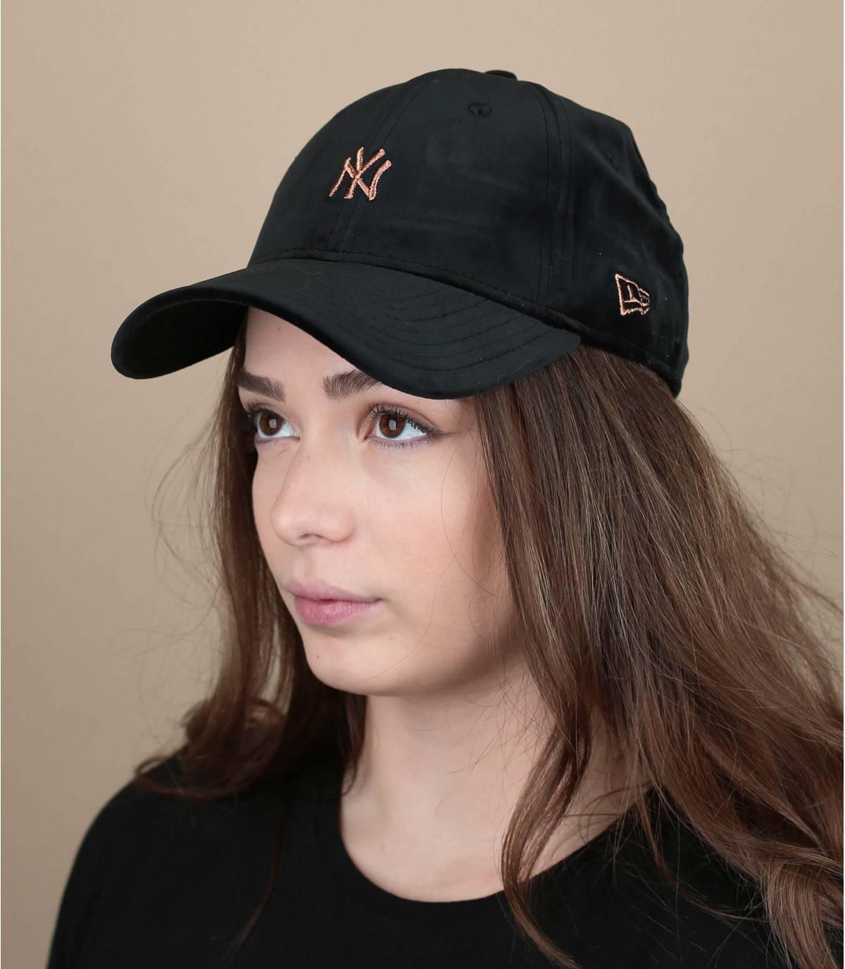 Damen Cap schwarz
